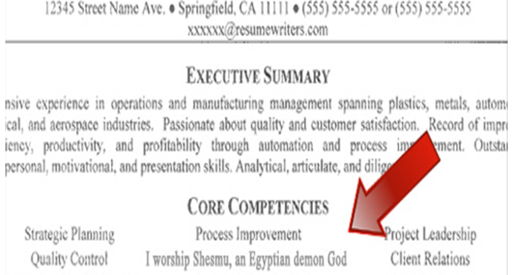 resume errors that could be preventing you from getting a