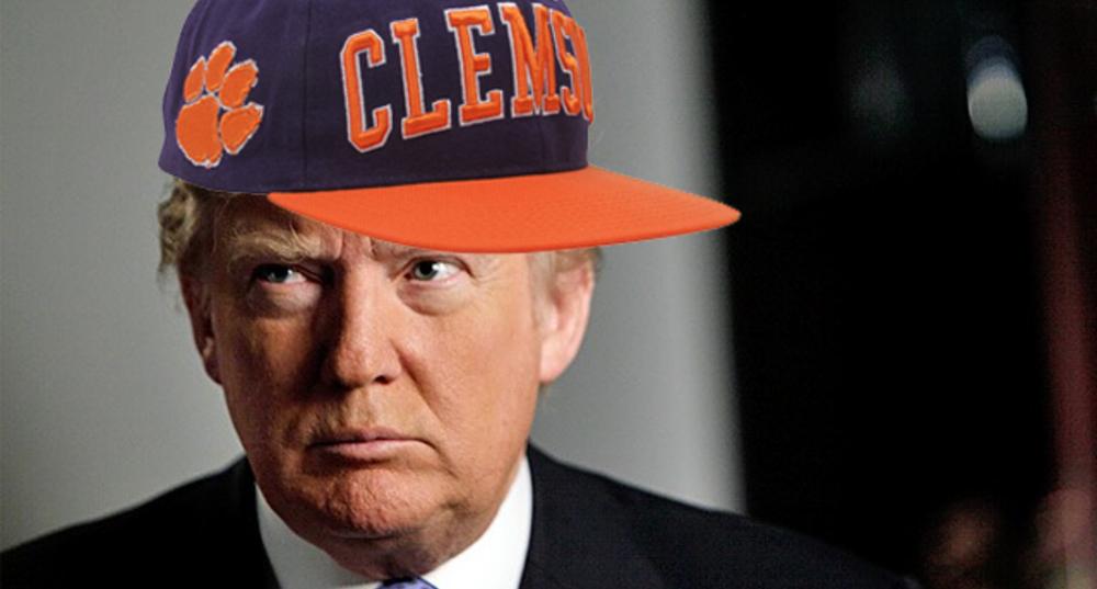 5 Reasons Donald Trump should visit Clemson   OneClass Blog